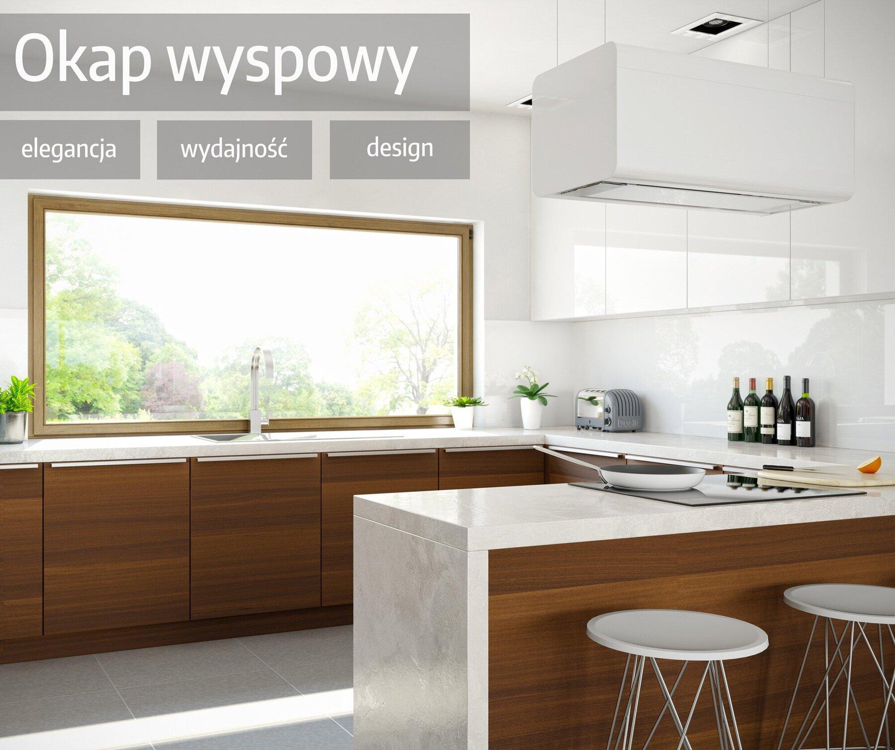 Okap wyspowy - elegancja, wydajność i najlepszy design w kuchni