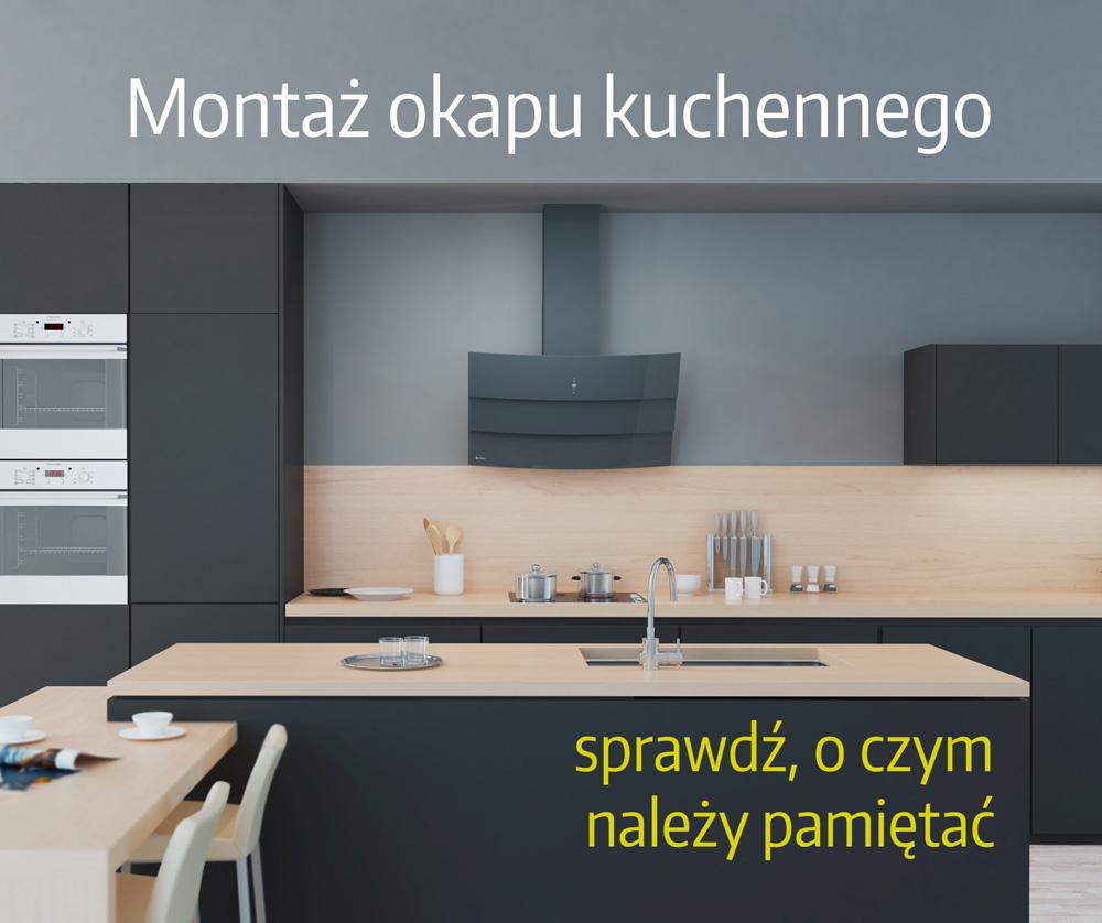 Montaż okapu kuchennego