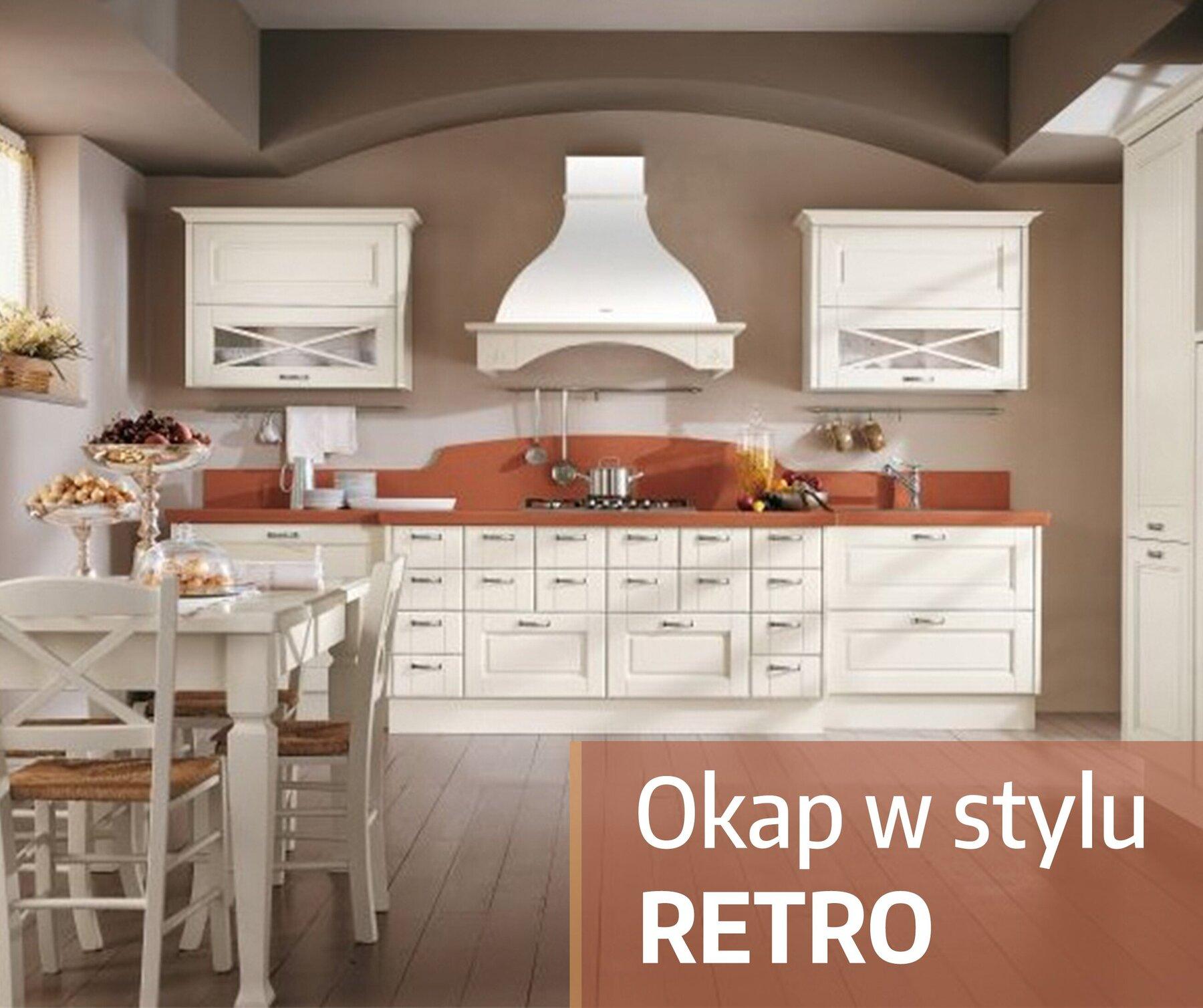 Okap Retro Wydajnosc I Design Sklep Okapykuchenne Pl