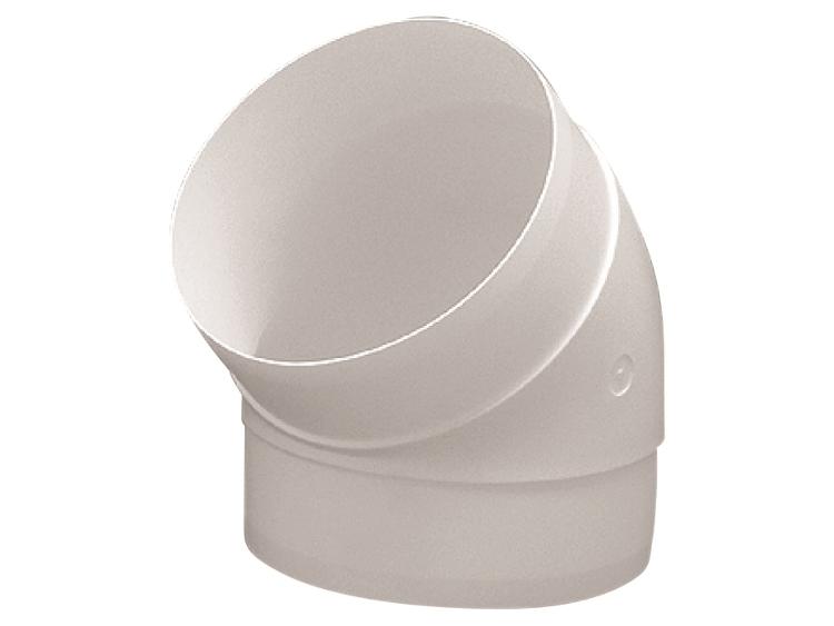 Kolanko okrągłe DOMUS 45° fi 12,5 cm kod 591  OkapyKuchenne pl