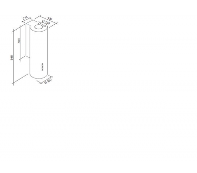 Okap do zabudowy FALMEC INTEGRATA 120 X